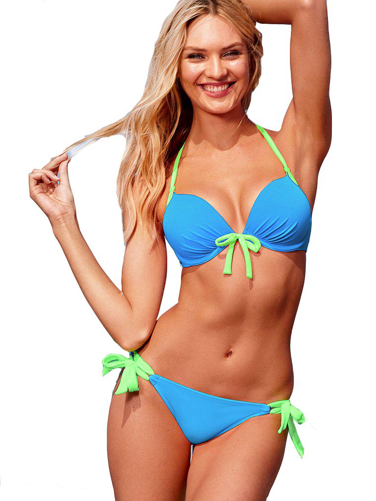 Bikini Zoraida Blå/Grön (L)