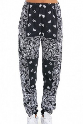 Sweatpants Paisley (S)