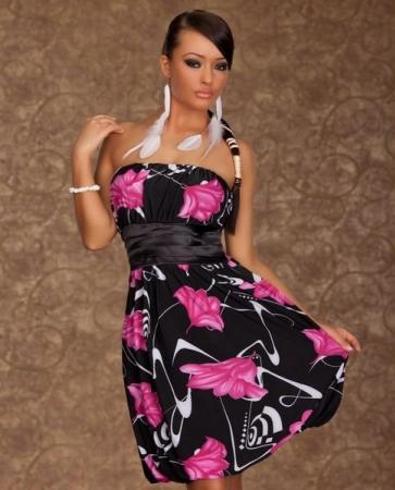 rosa sidor clubwear kläder