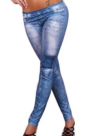 Leggings Irena Blå