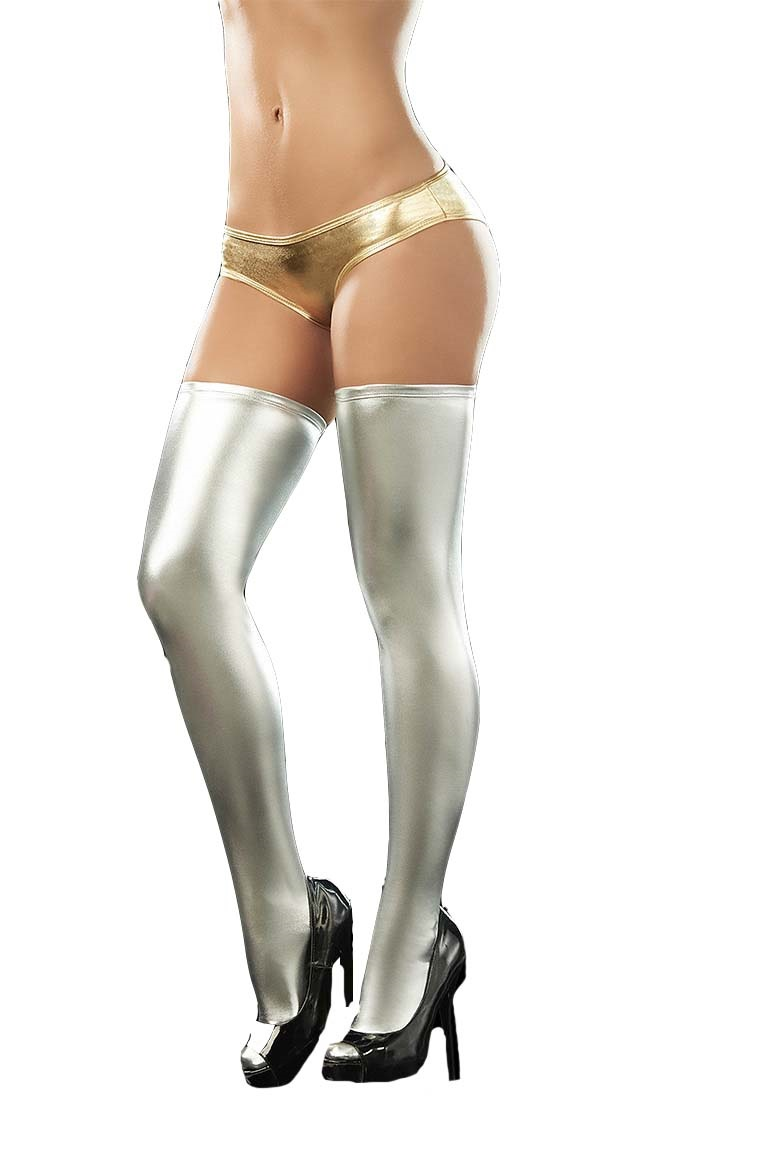 Stocking Mariona Silver