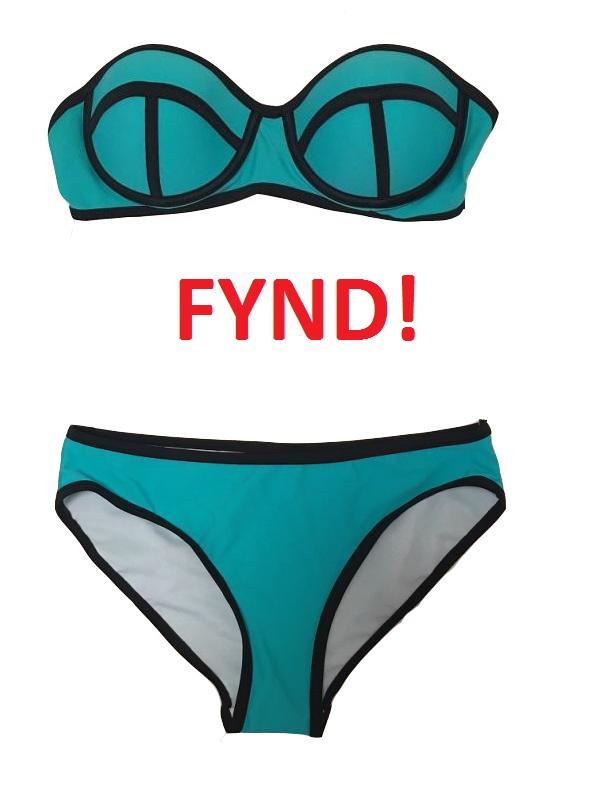 Bikini Aitana Blå - Fynd (M)