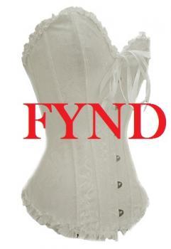 Vit korsett - Fynd
