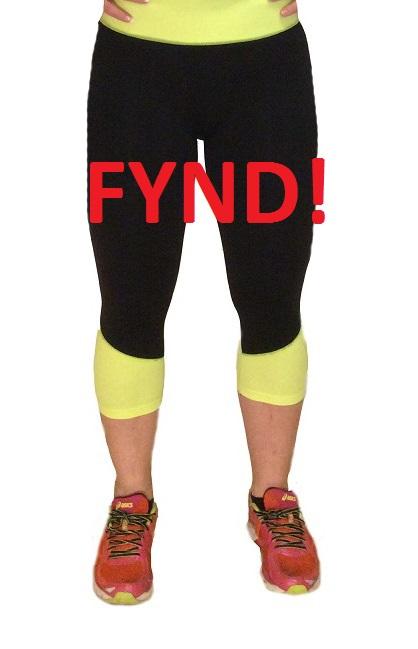 Träningsbyxa gul - Fynd (S/M)