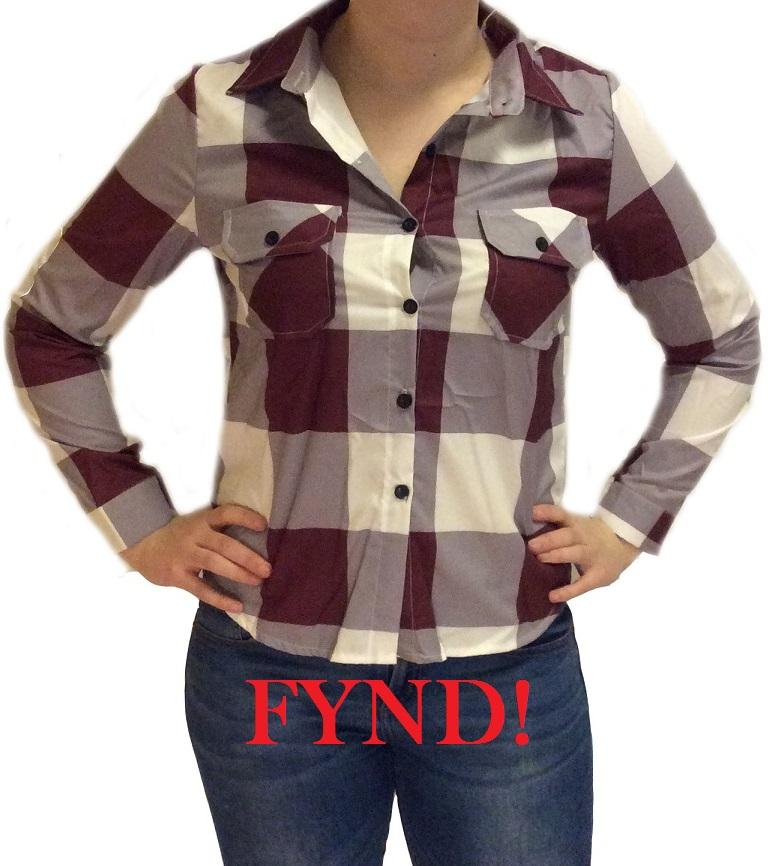 Rutig skjorta - FYND (M)
