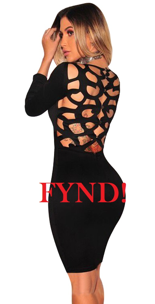 Svart klänning - FYND (S)