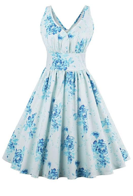Rockabilly klänning Piper (S)