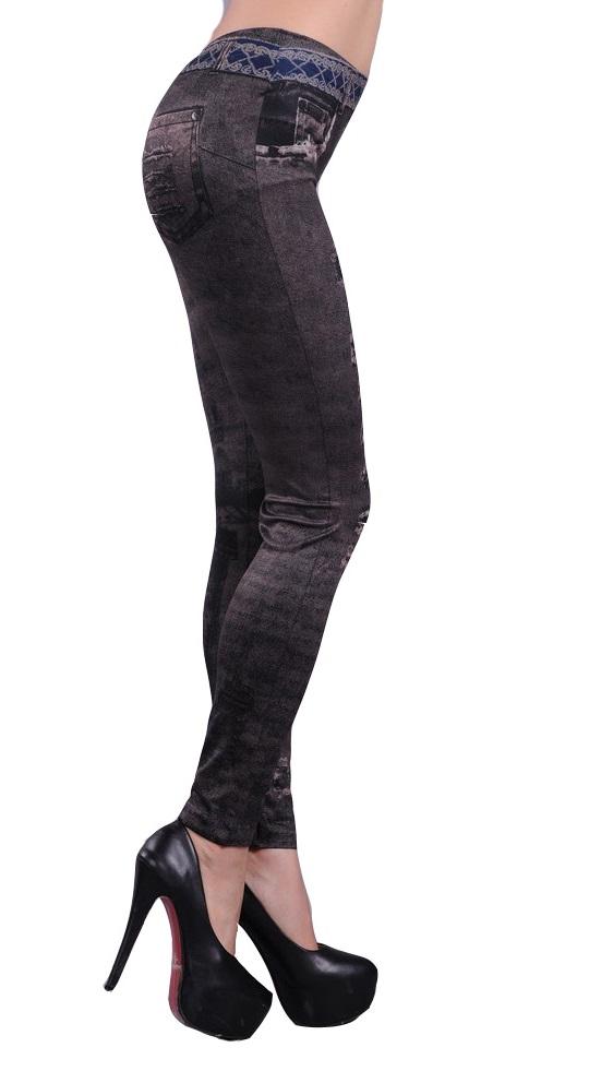 Leggings Mille grå/brun (Onesize)
