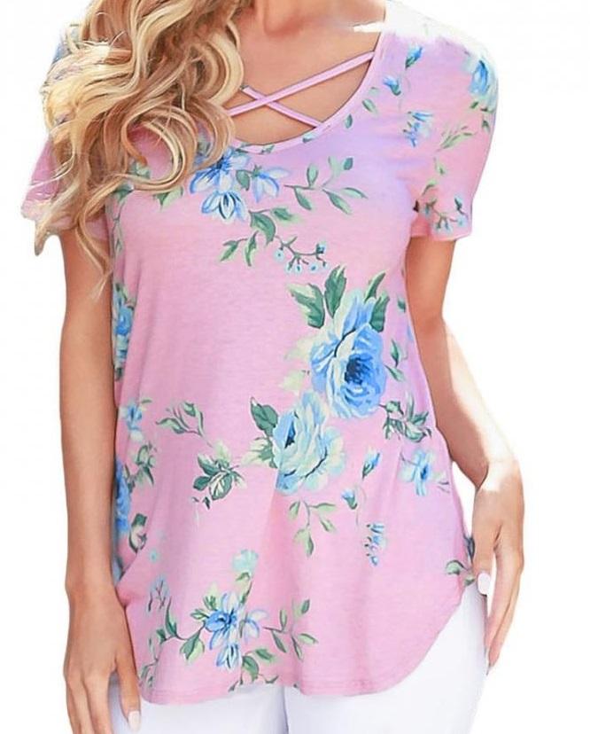 T-shirt Sandrella Rosa (L)