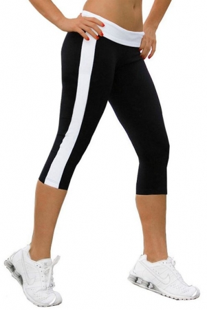 Leggings Nuria Svart/Vit (XL)